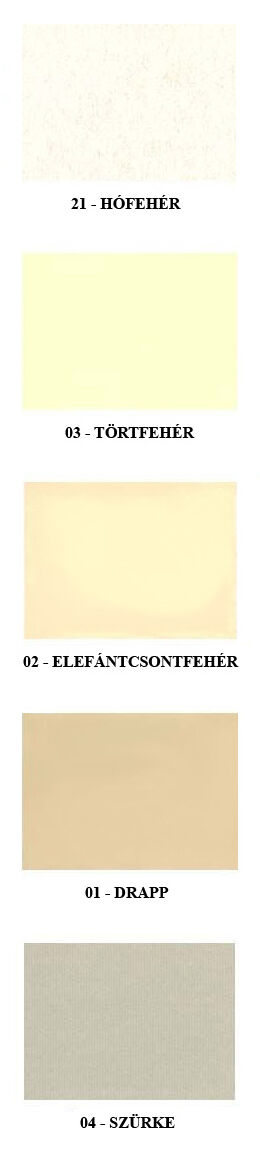 Fabriano Ingres Papír színskála