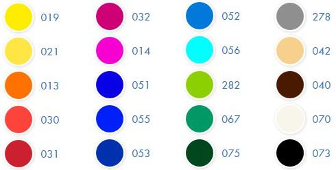 Marabu Basic Akrilfesték színskála
